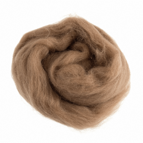Natural Wool Roving 10g Assorted Colours